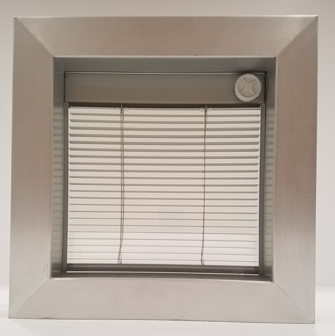 integral mini blind window