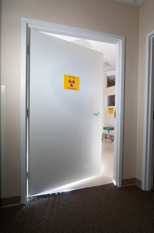 lead door for x-ray room