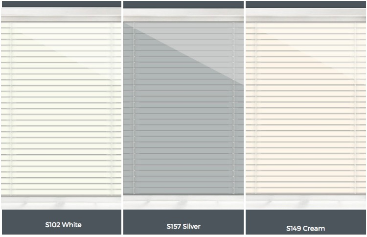 integral mini blind colors
