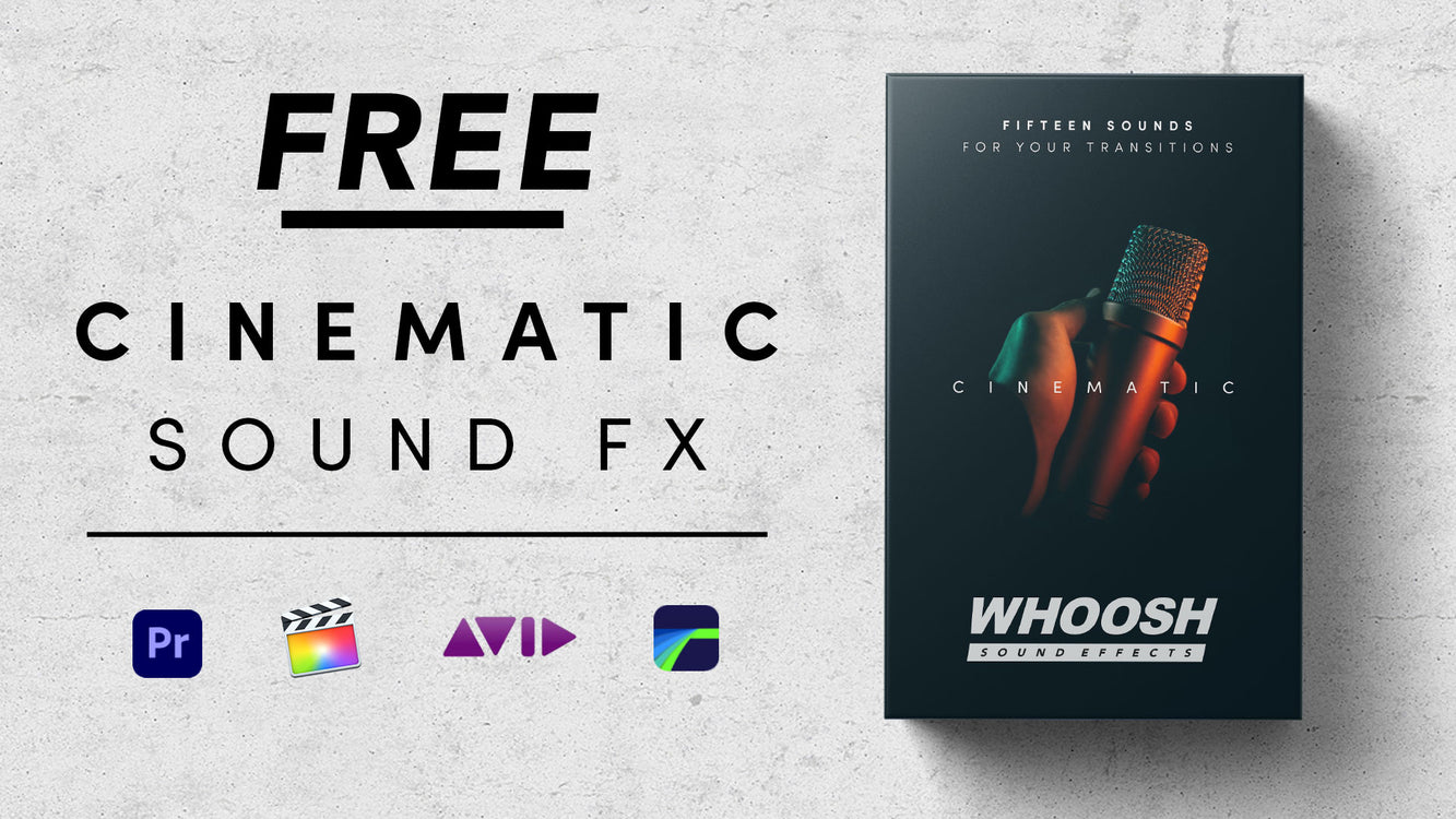 Free Cinematic Sound Effects Pack