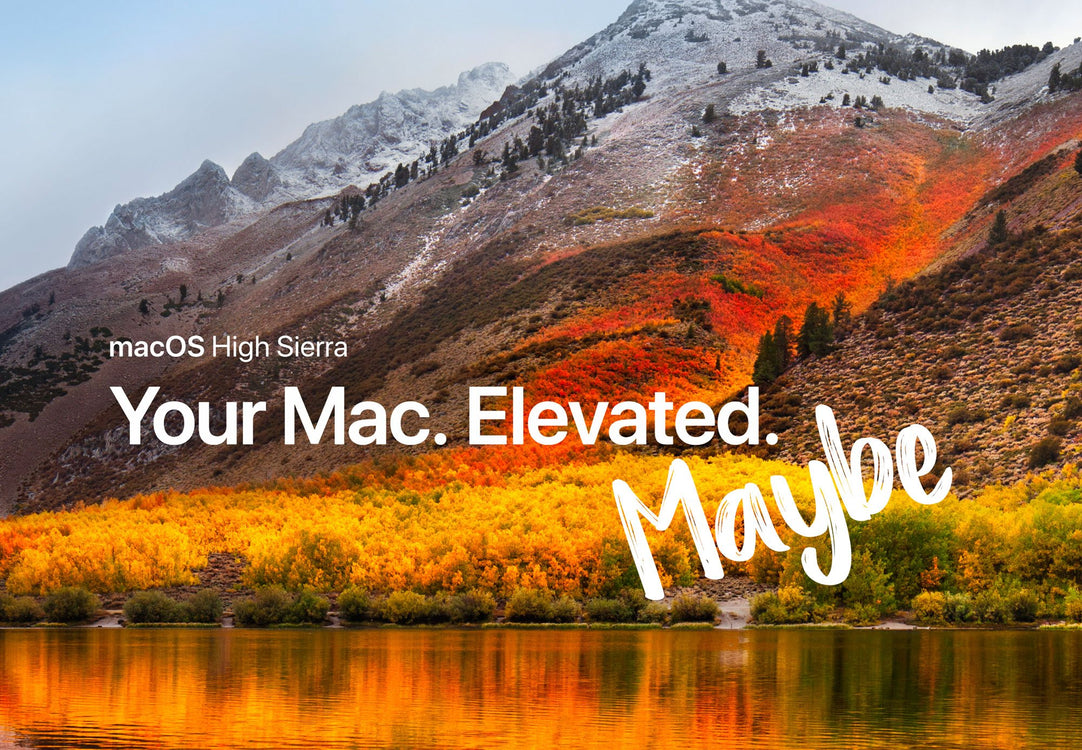 Is MacOS High Sierra Compatible with your software?