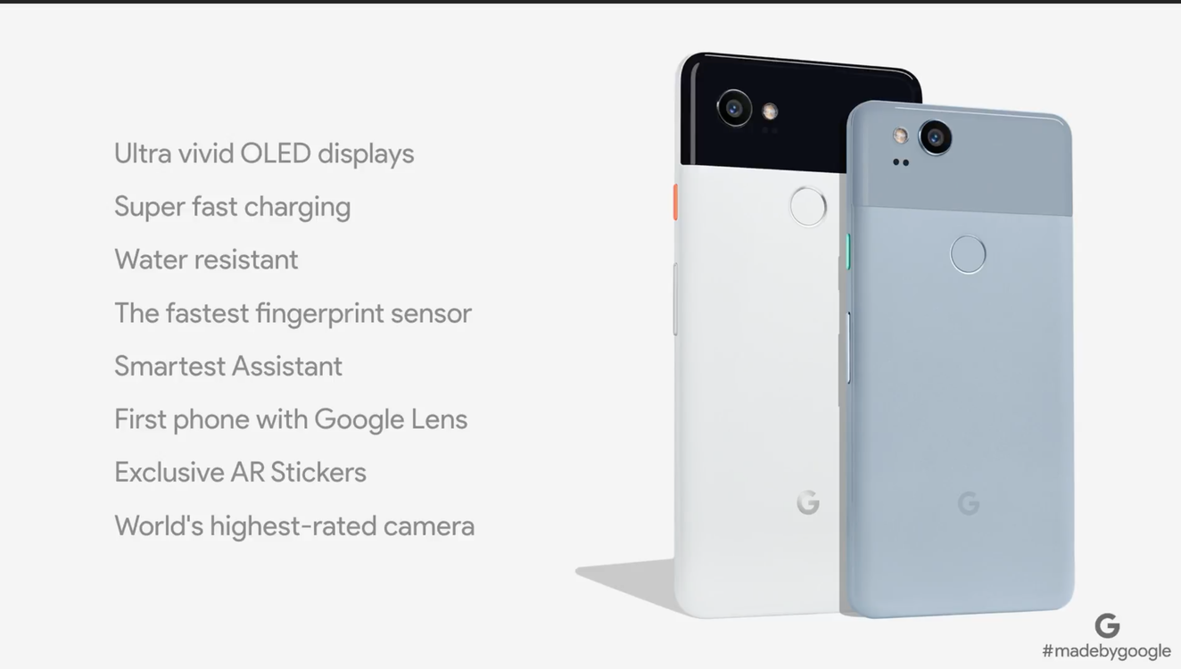 The Google Event - Google Pixel 2 - New Cameras