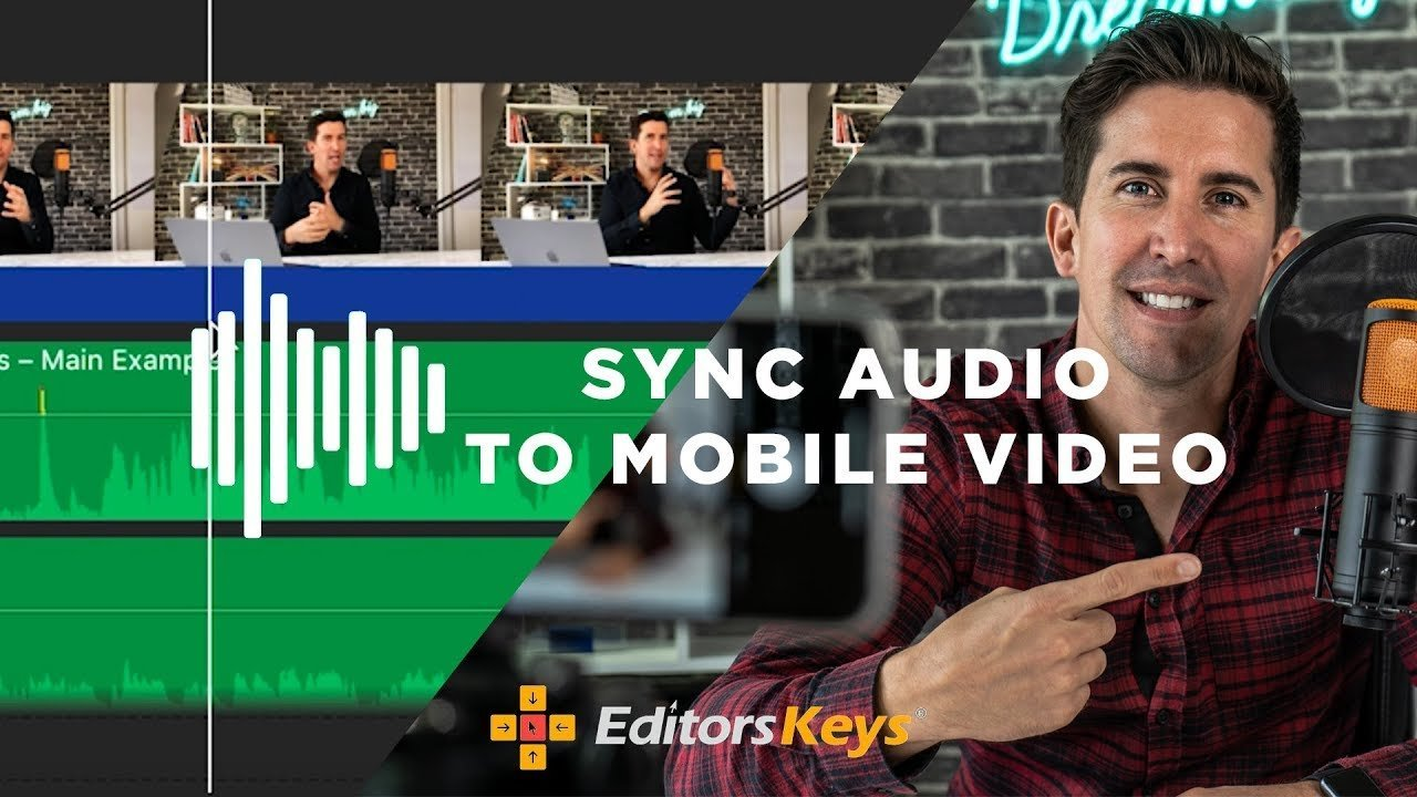 The Secret to Syncing iPhone Video to USB Microphone Audio on Mac or PC