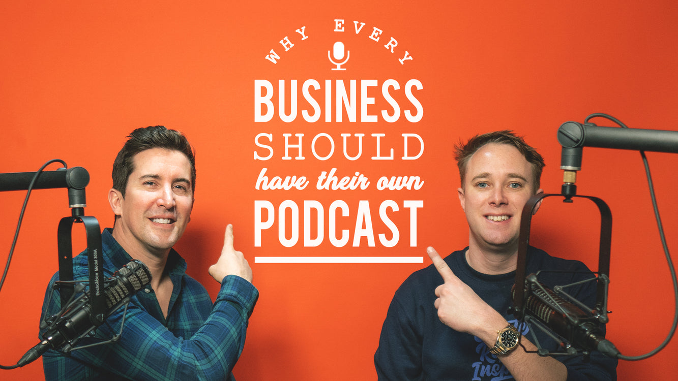 Why every business needs a podcast