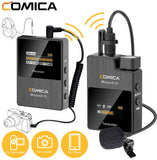 Comica Audio BoomX-D D1 Wireless Microphone System for Mirrorless/DSLR Cameras (2.4 GHz)