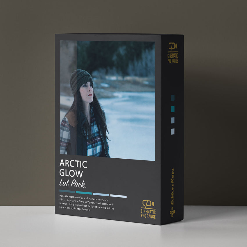 Cinematic Lut Pack Pro Level - Arctic Glow