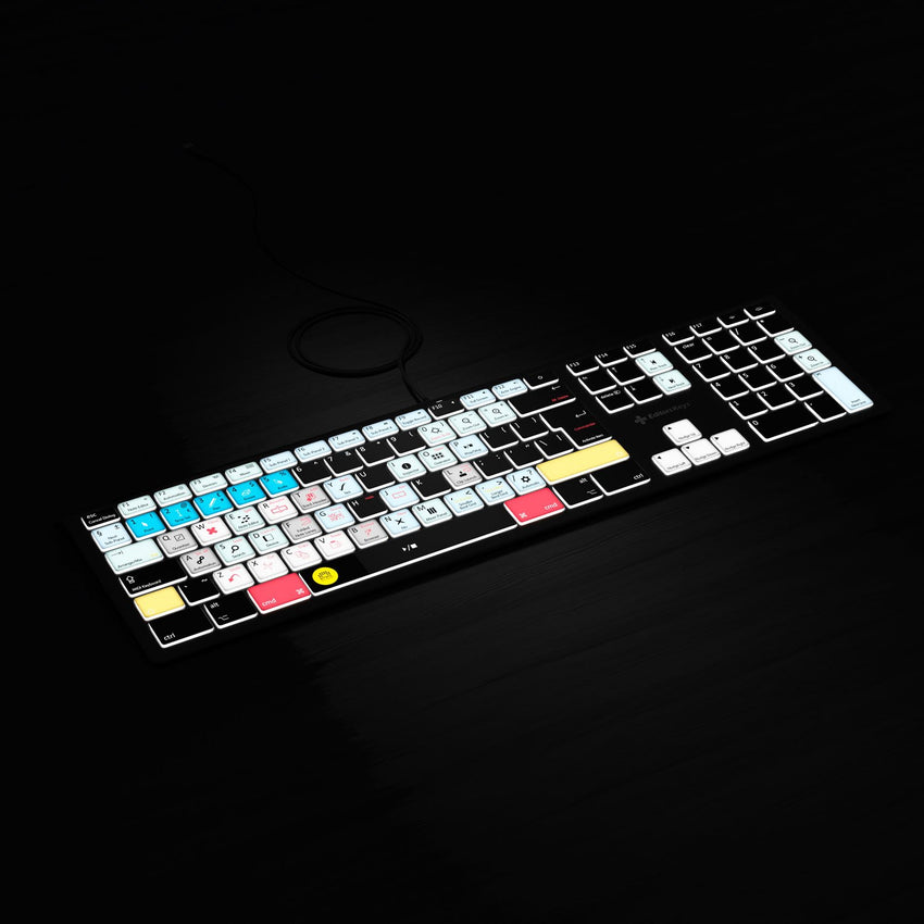 Full Backlit Keyboard for BitWig