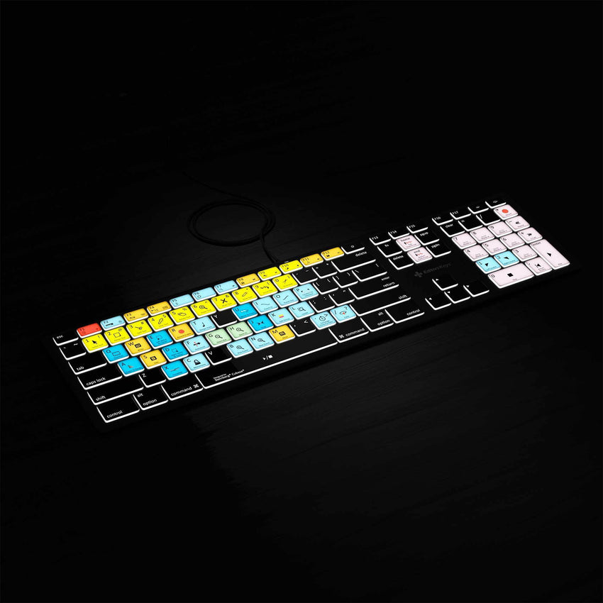 Cubase Backlit US Keyboard