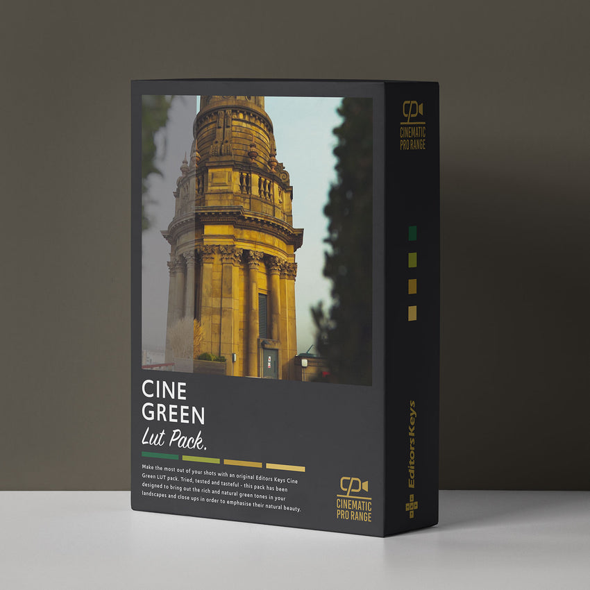 Cinematic Lut Pack Pro Level - Cine Green
