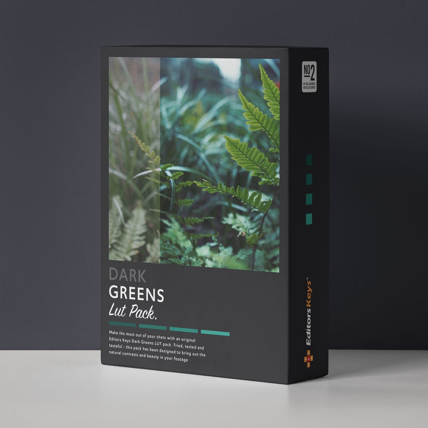 Cinematic LUT pack - Dark and Green Lut