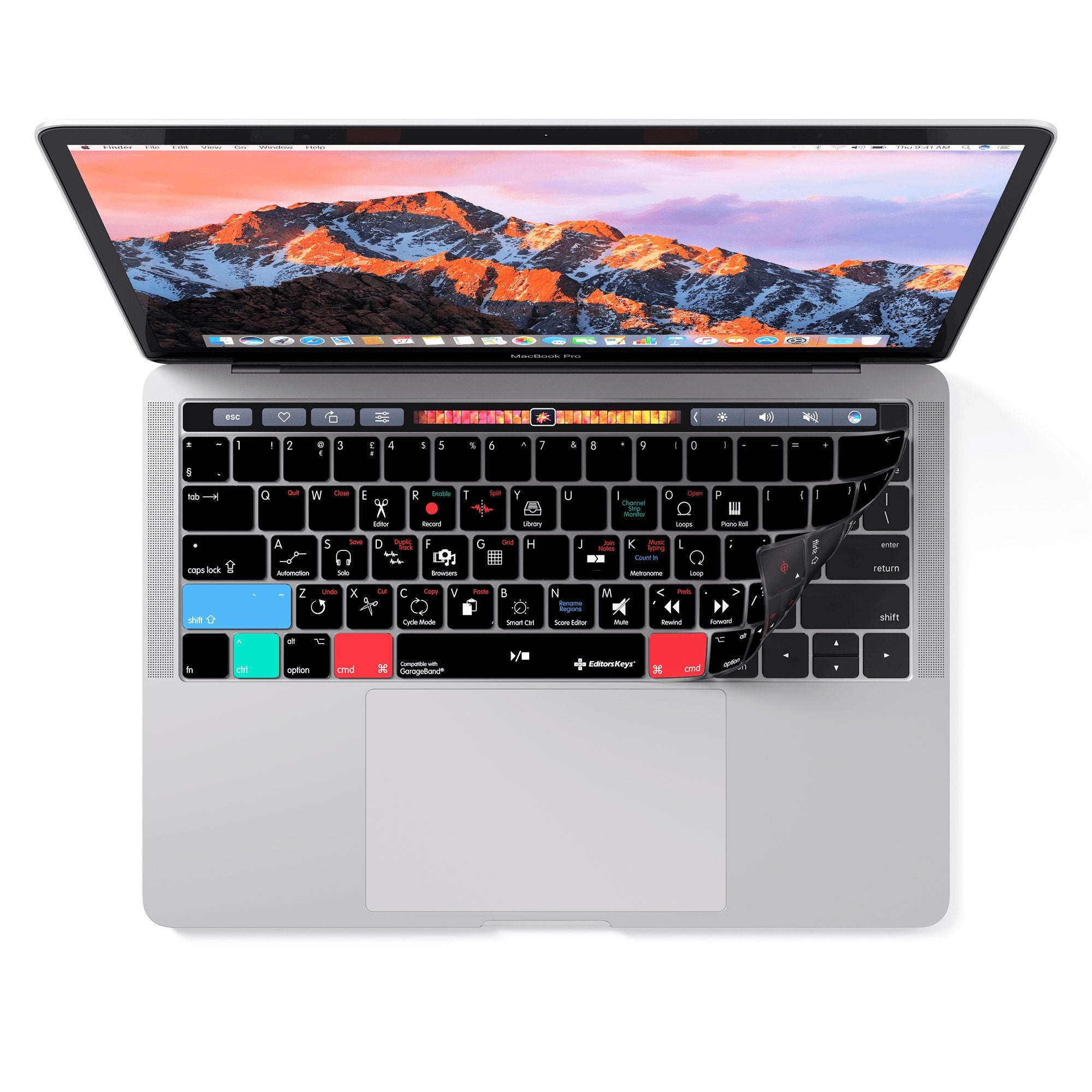 Apple Garageband Keyboard Covers For Macbook And Imac Protection