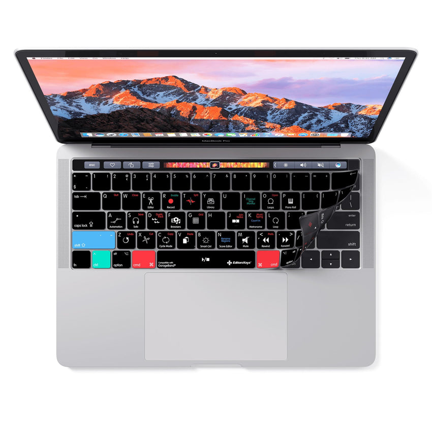 Apple Garageband Keyboard Covers for MacBook and iMac