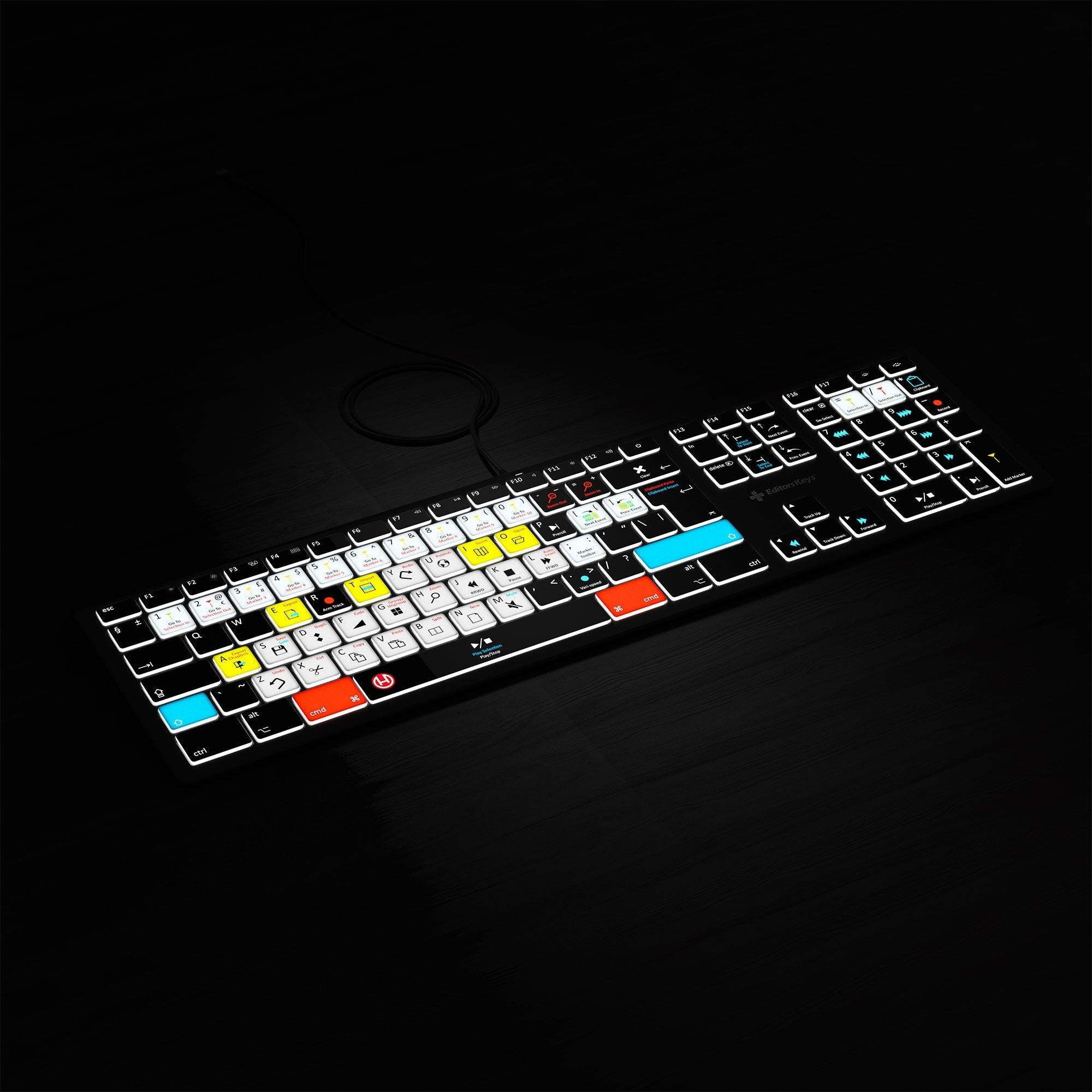 Hindenburg Keyboard Backlit Mac
