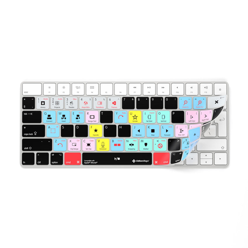 iMovie Keyboard Covers for MacBook and iMac