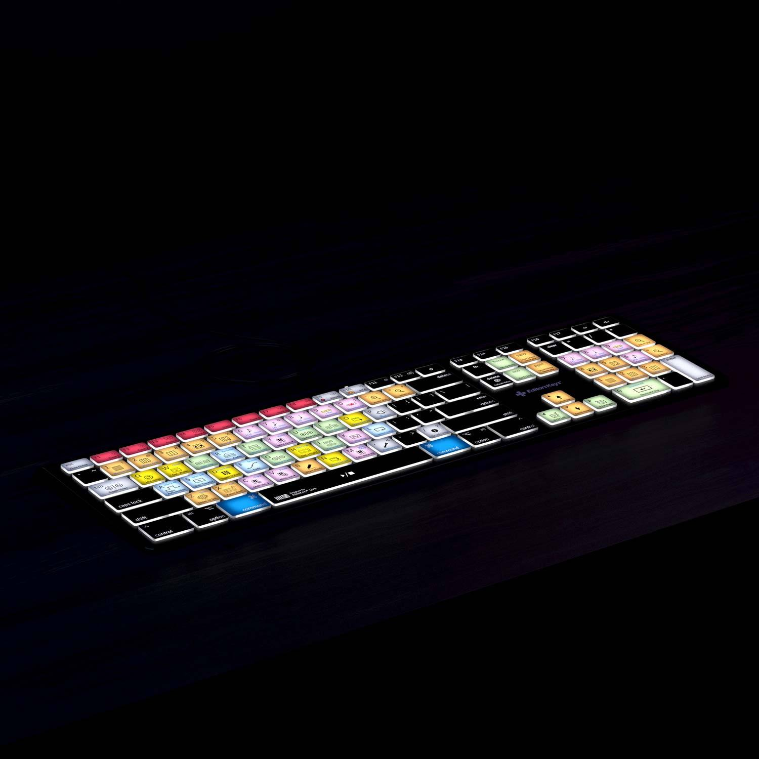 Ableton Live Keyboard - Backlit - For Mac or PC
