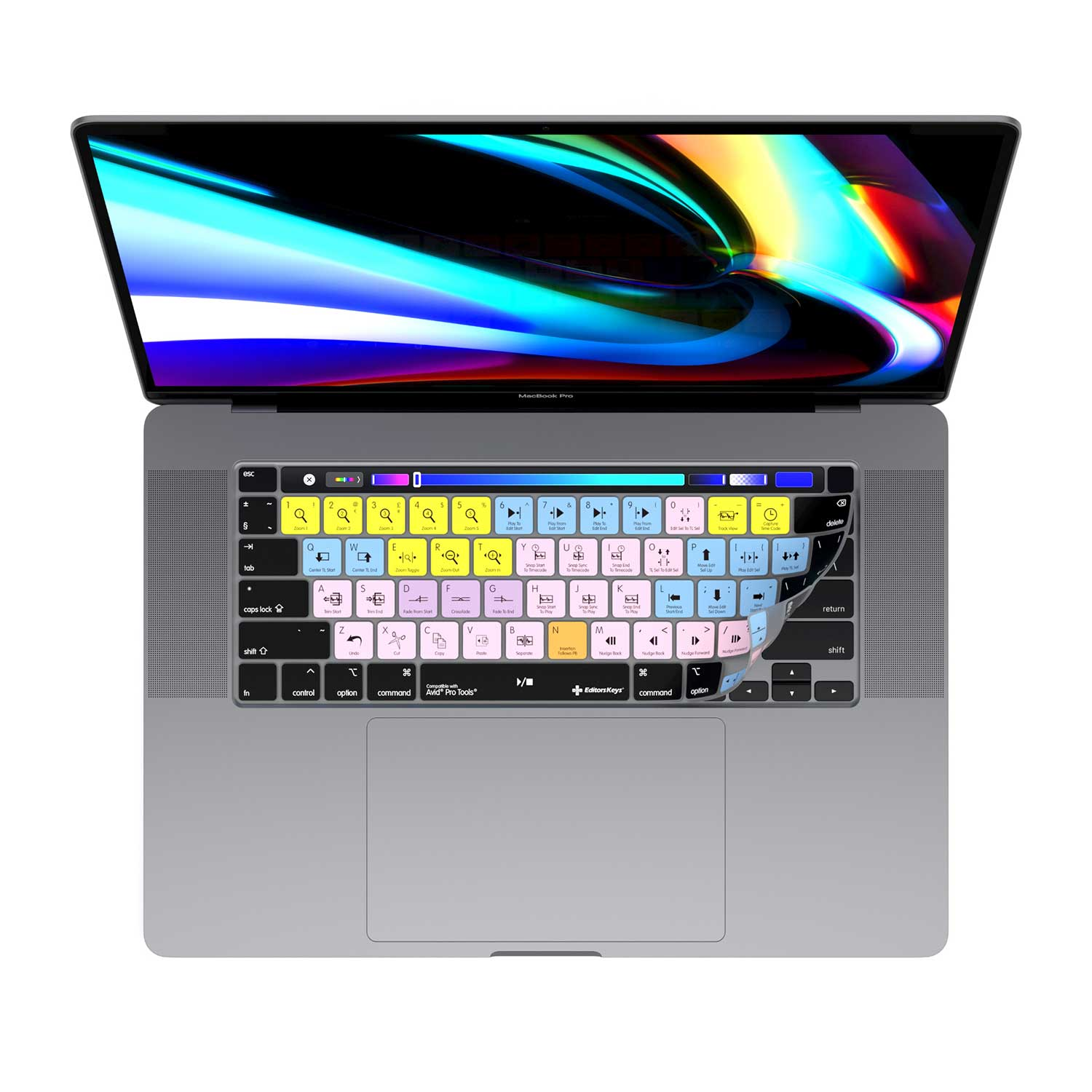 "Avid Pro Tools Keyboard Cover for 16"" MacBook Pro"