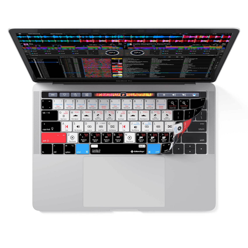 Rekordbox Cover for MacBook Pro with Touchbar