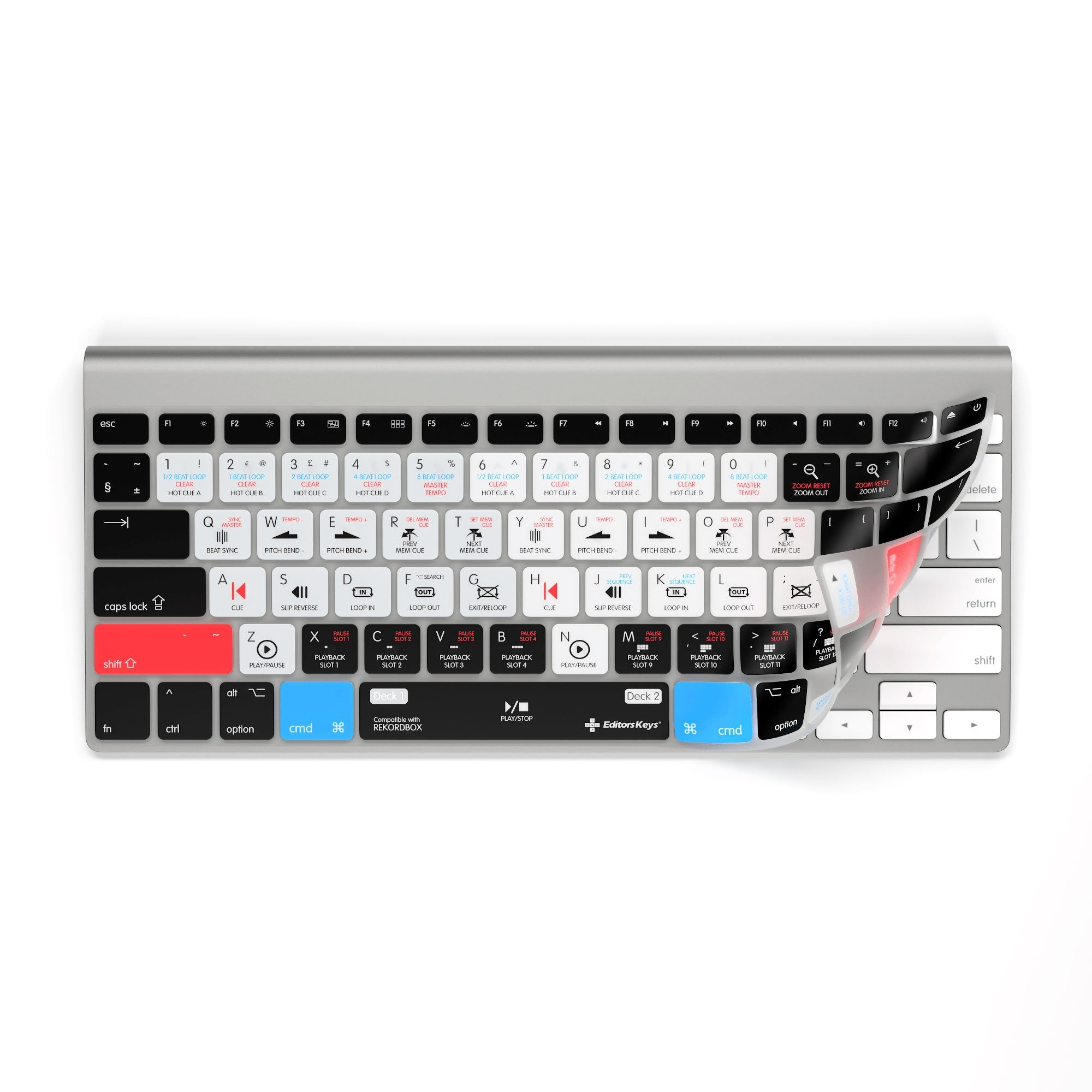 RekordBox Keyboard Covers for MacBook Pro