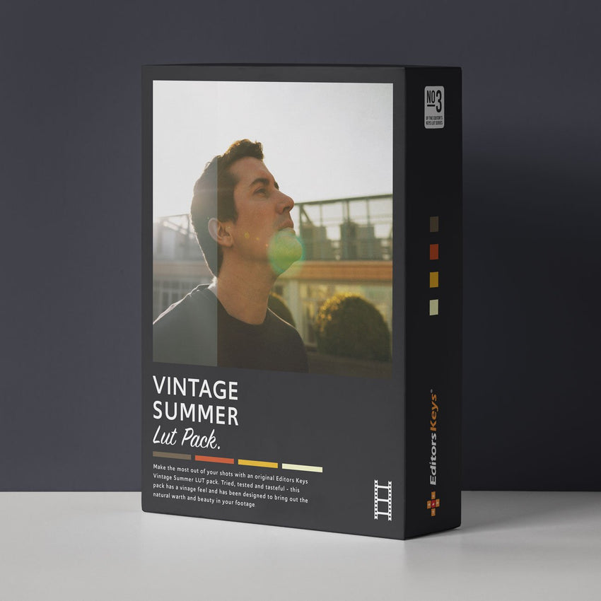 Cinematic LUT pack - Vintage Summer Lut
