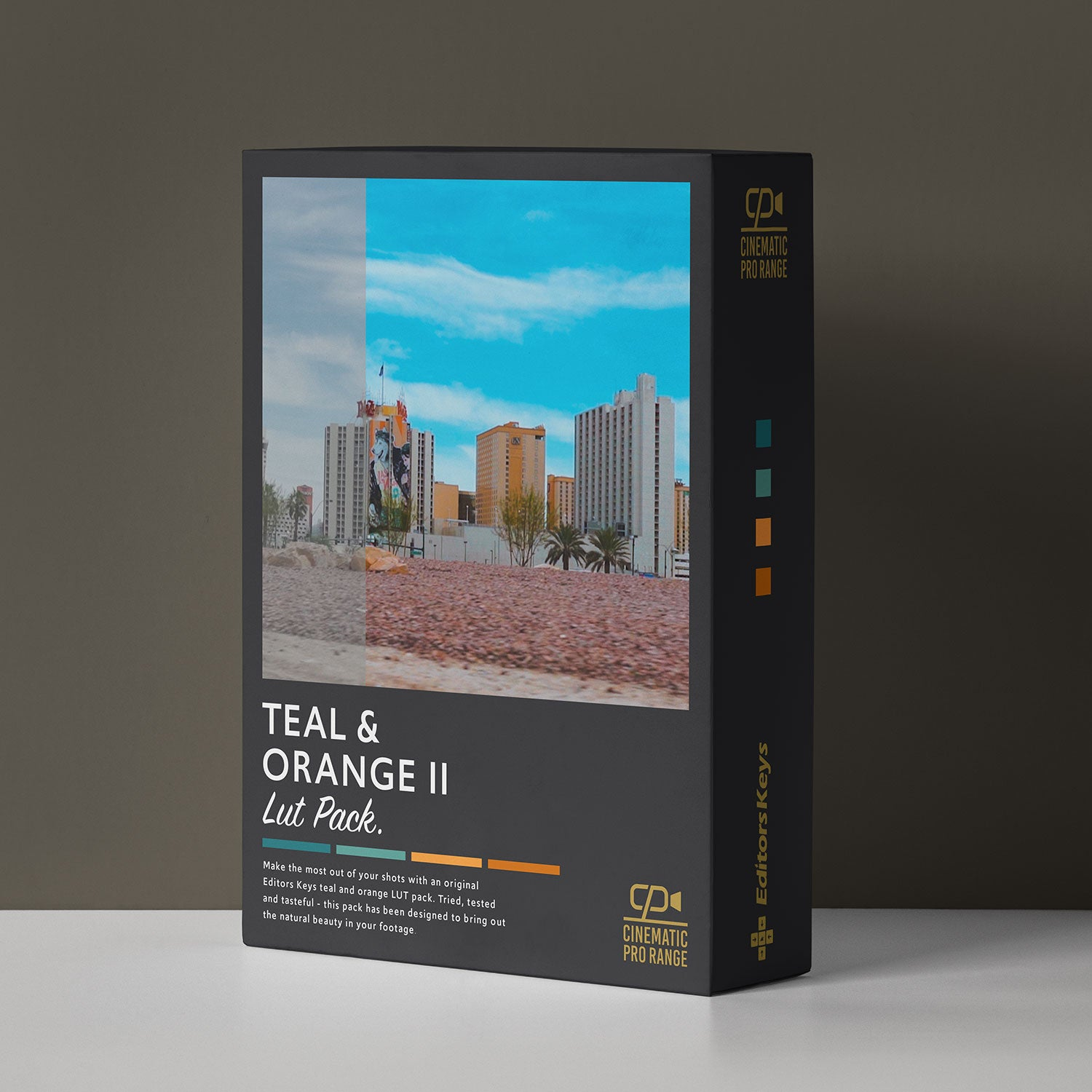 Cinematic Lut Pack Pro Level - Teal and Orange II