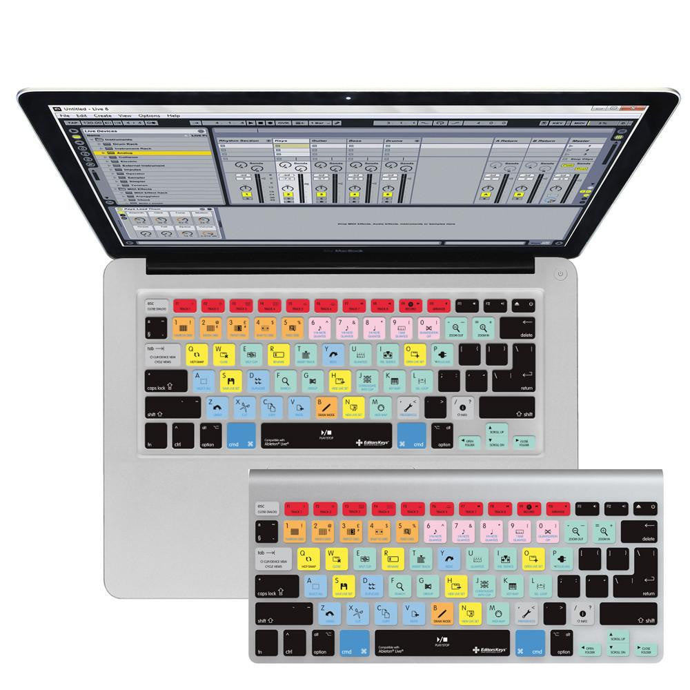brand new 8e0e0 8666e Ableton Live Keyboard Covers for MacBook and iMac