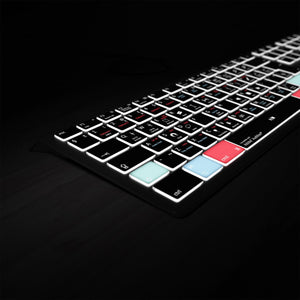 Adobe Audition Keyboard - Backlit Mac & PC