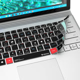 Adobe Audition Keyboard Covers for Microsoft Surface Line