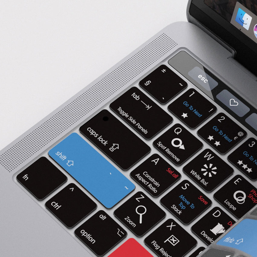 Adobe Lightroom Keyboard Covers for MacBook and iMac