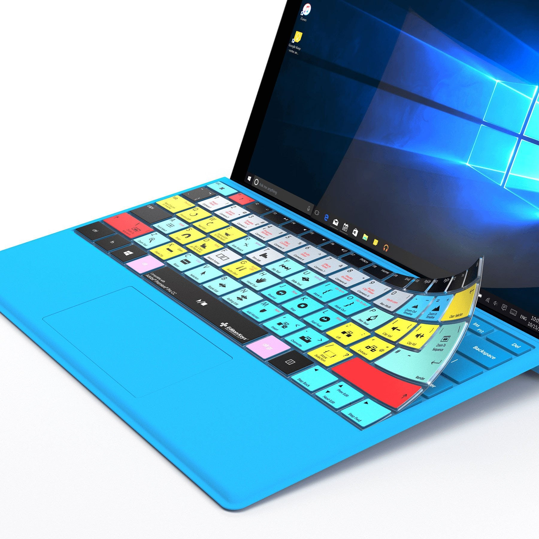 Adobe Photoshop Keyboard Covers for Microsoft Surface Line