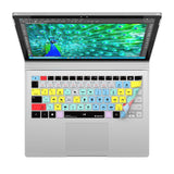 Adobe Premiere Pro Keyboard Covers for Microsoft Surface Line