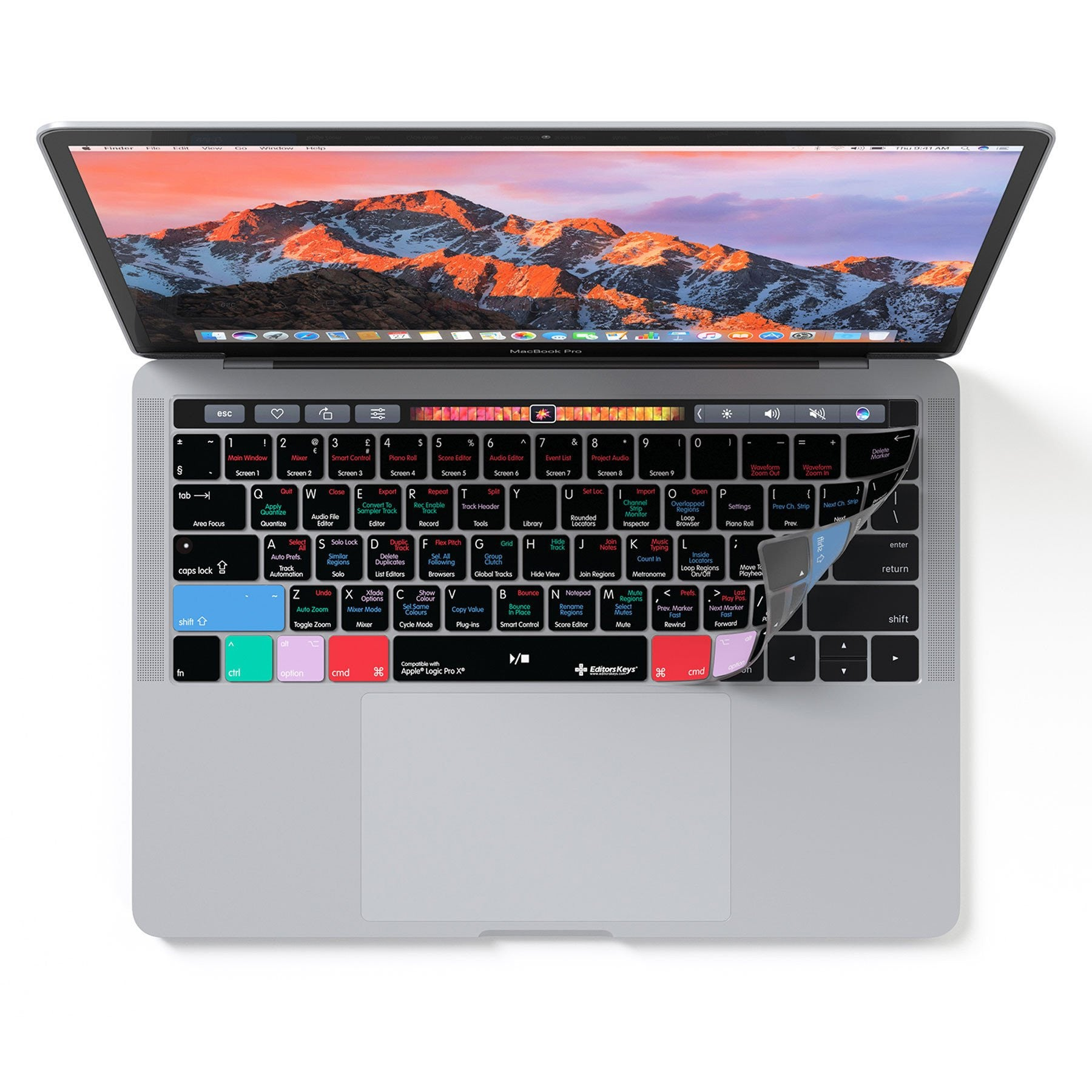 new concept e92ec 07d60 Apple Logic Pro X Keyboard Covers for MacBook and iMac - Protection ...