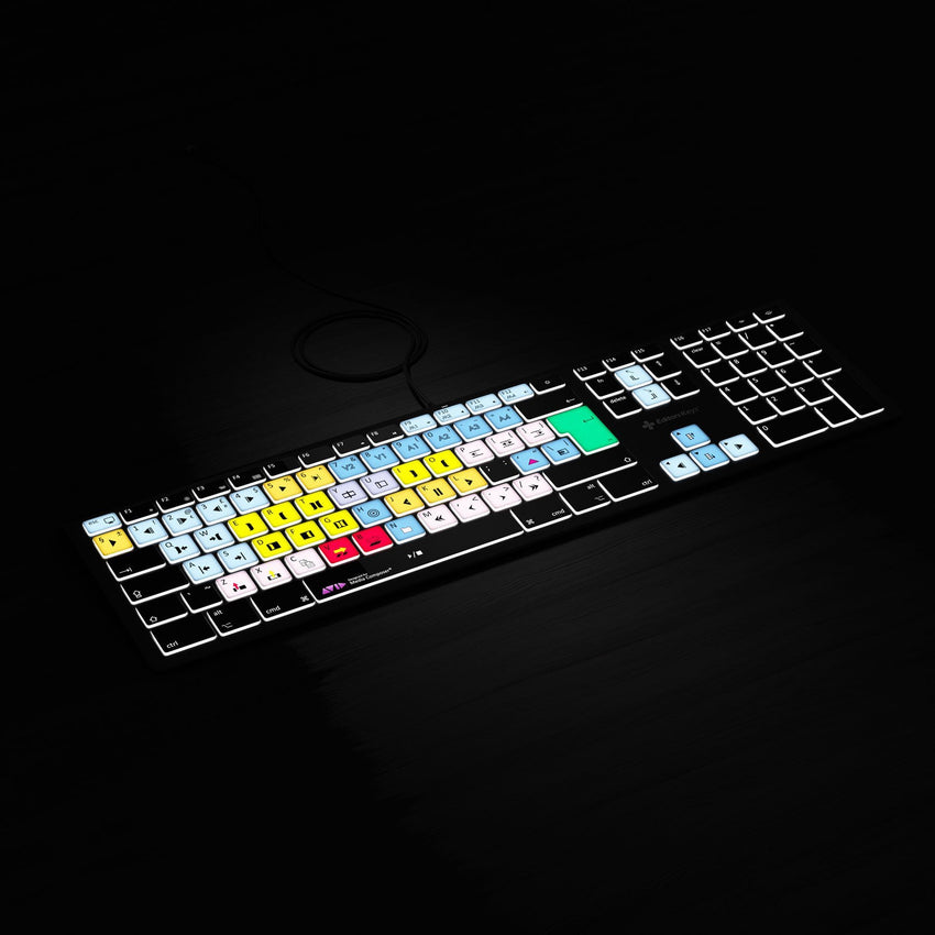 REFURB Avid Media Composer Keyboard - Backlit - For Mac or PC