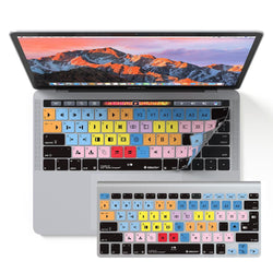 Avid Media Composer Keyboard Covers for MacBook and iMac