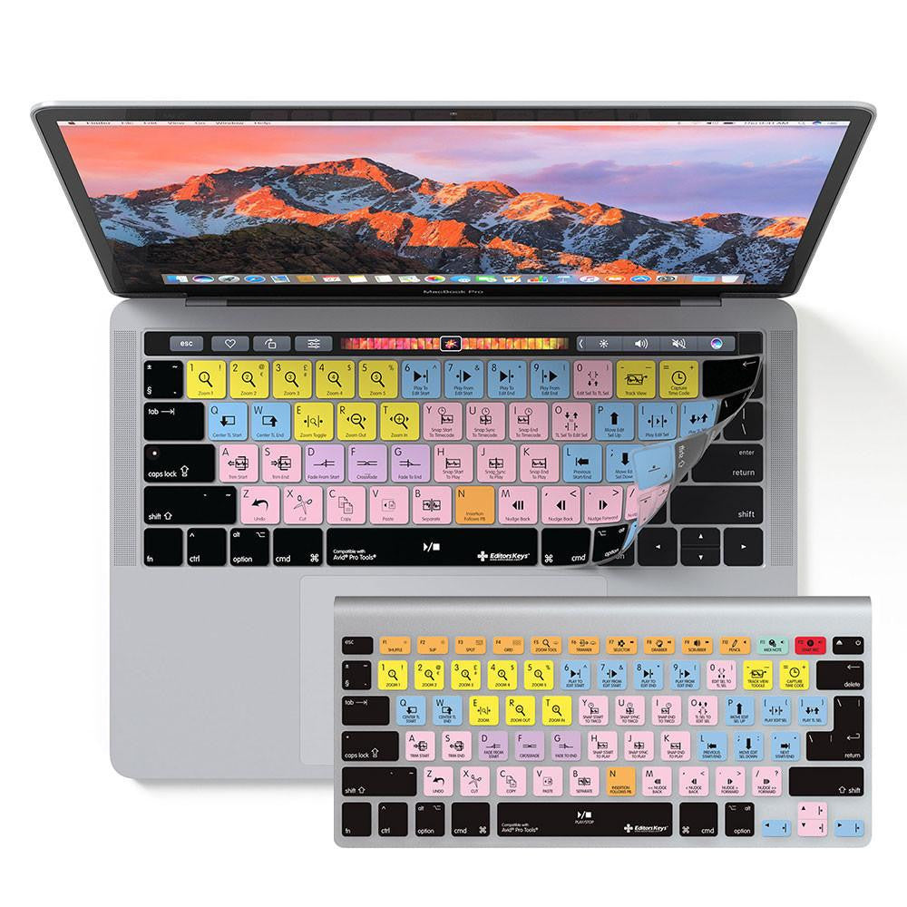 Avid Pro Tools Keyboard Covers for MacBook and iMac