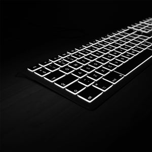 Backlit Mac Keyboard - Standard Keyboard