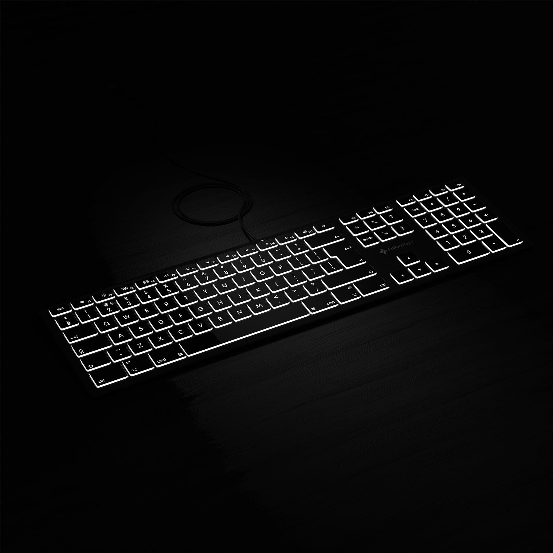 Backlit PC Keyboard - Standard Keyboard