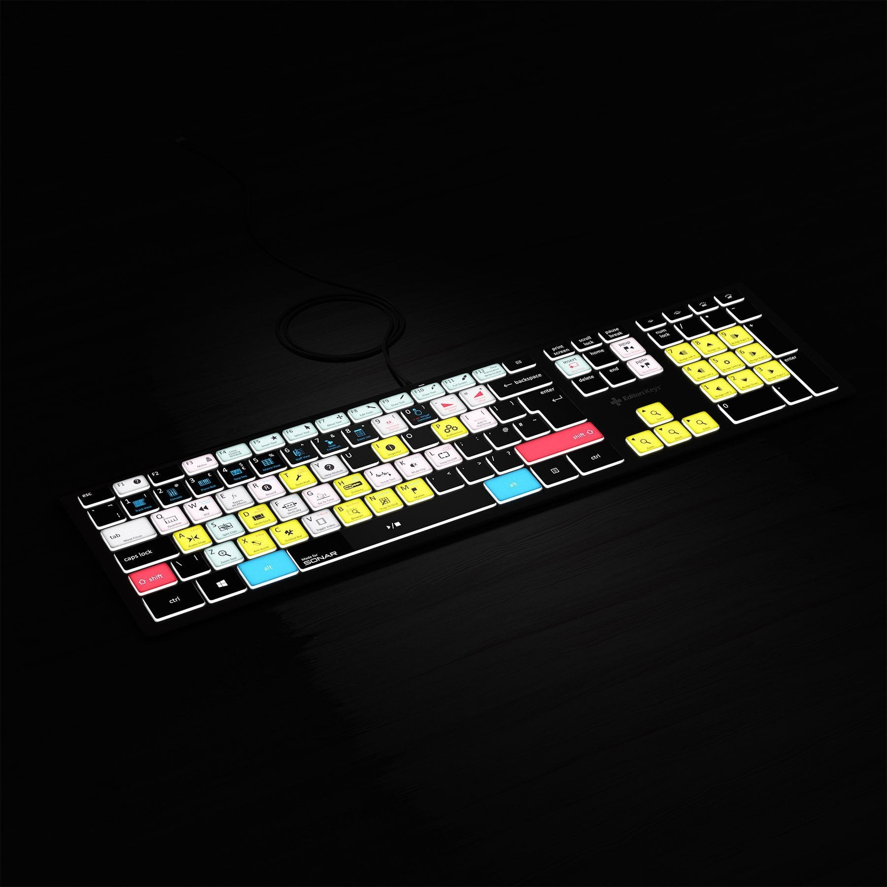 Cakewalk Sonar Keyboard - Backlit - For PC