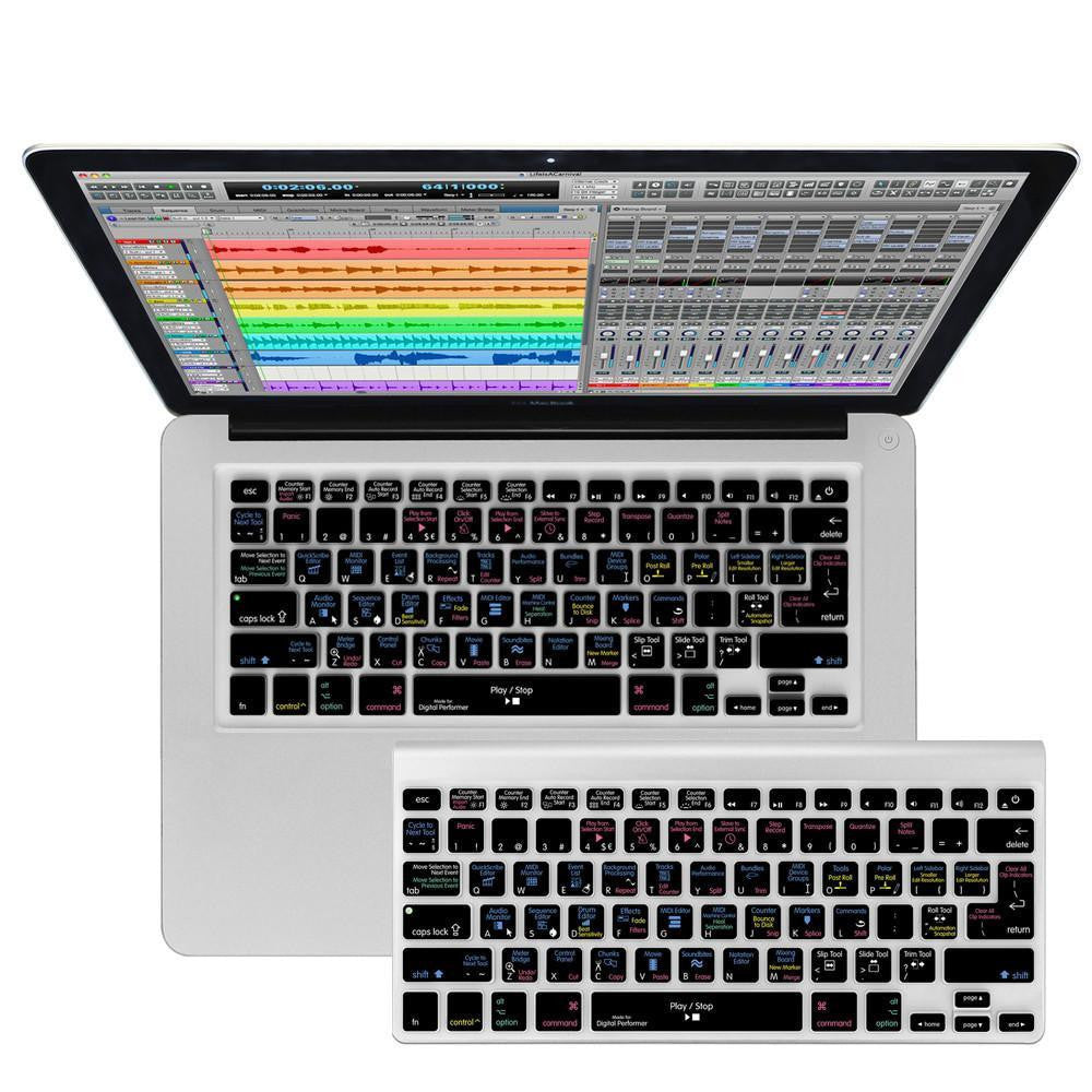 Digital Performer Keyboard Covers for MacBook and iMac