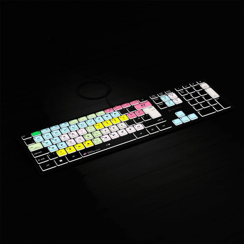 EDIUS Keyboard - Backlit PC