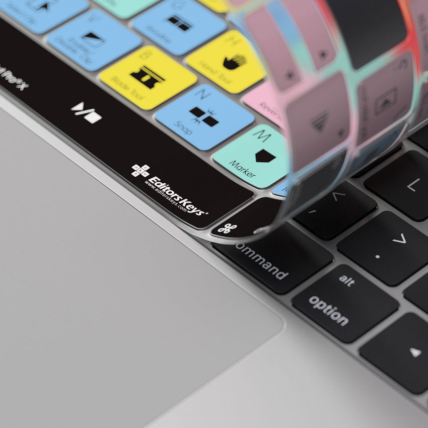 Final Cut Pro X Keyboard Covers for MacBook and iMac