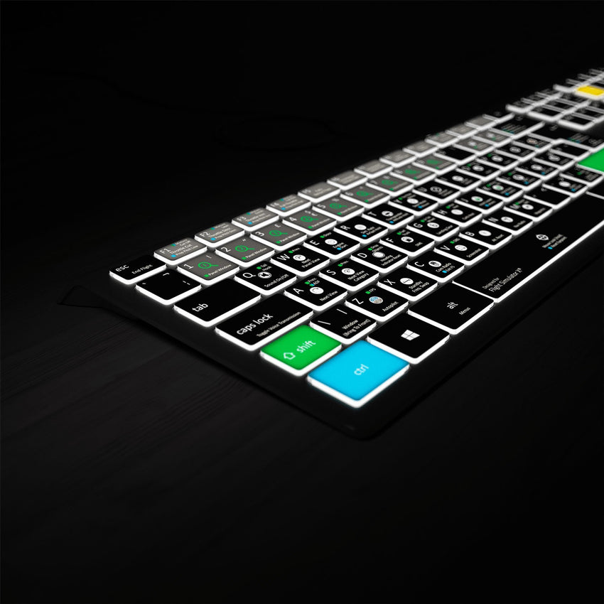 Flight Simulator X Keyboard - Backlit PC