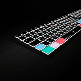 Logic Pro X Keyboard Backlit Mac