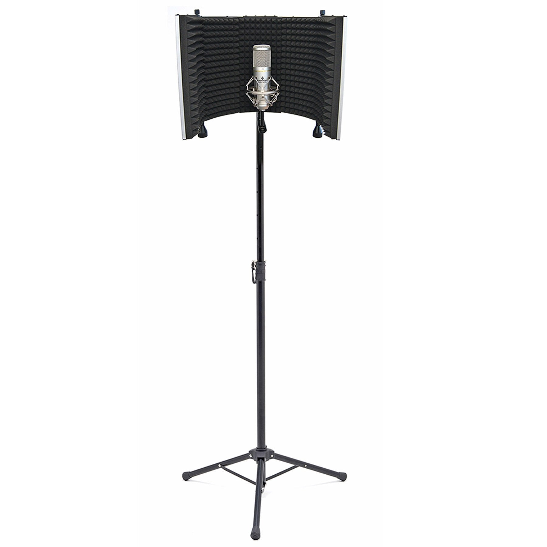 Portable Vocal Booth Pro with Floor & Desk Stands