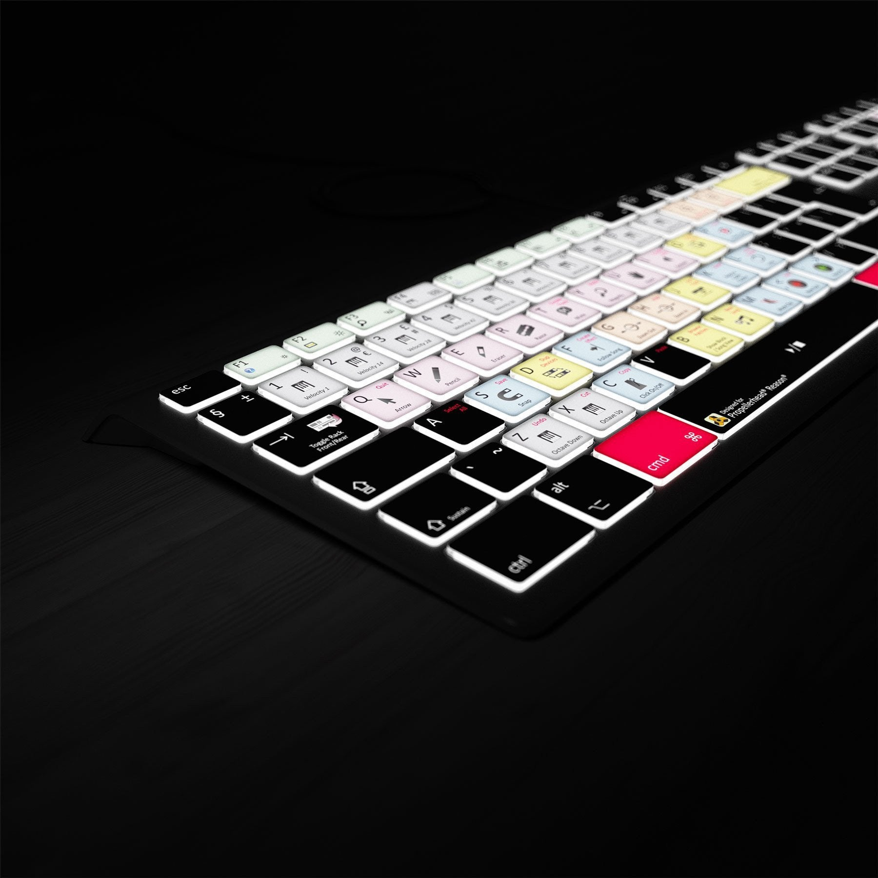 Propellerhead Reason Keyboard - Backlit - For Mac or PC