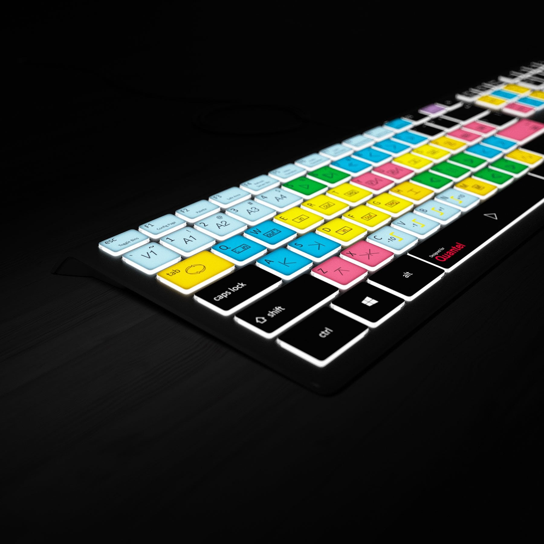 Sam Quantel Keyboard - Backlit PC