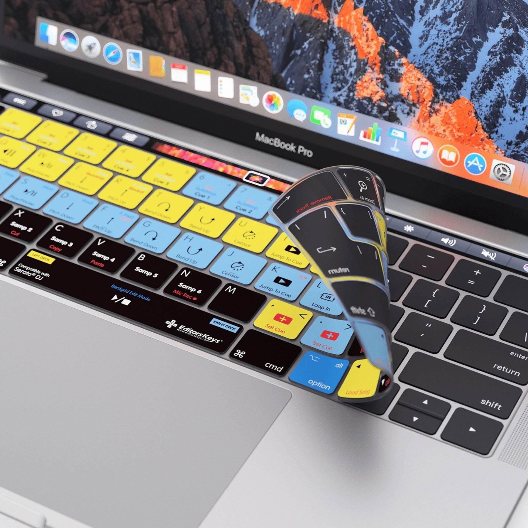 Serato DJ Keyboard Covers for MacBook and iMac