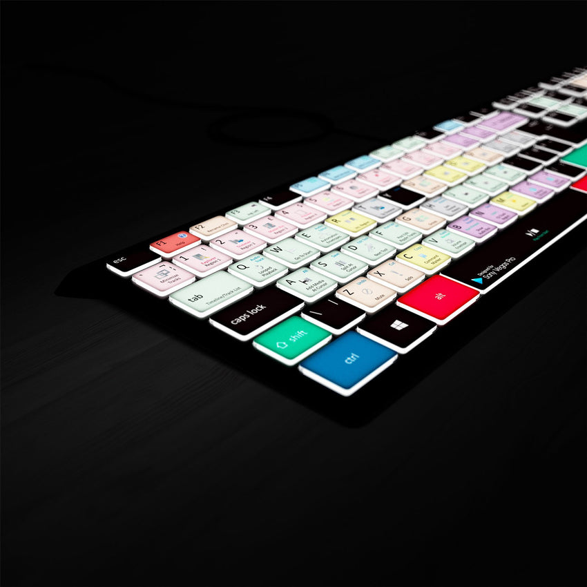 Magix Vegas Keyboard - Backlit PC - Faster Editing in Magix