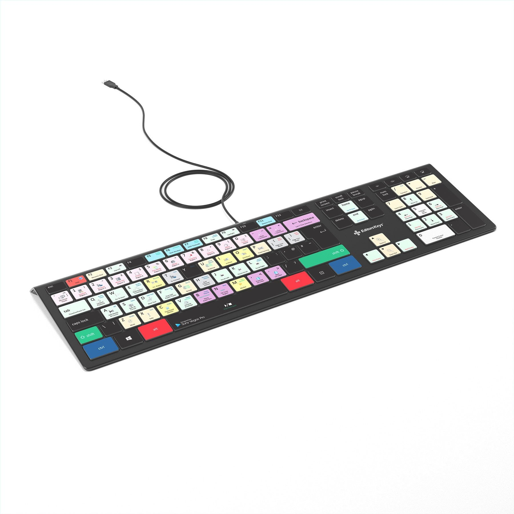 Magix Vegas Keyboard - Backlit PC