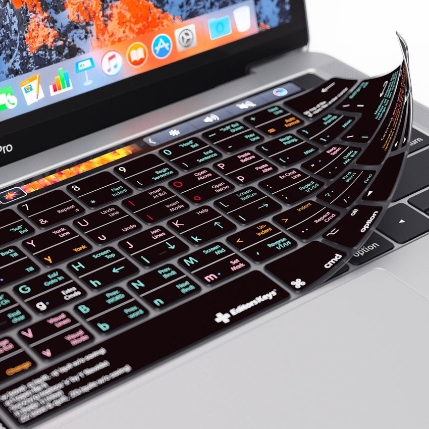 Vi & VIM Keyboard Covers for MacBook and iMac