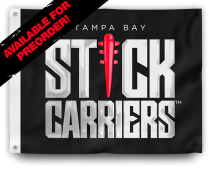 Stick Carriers Flag | Logo